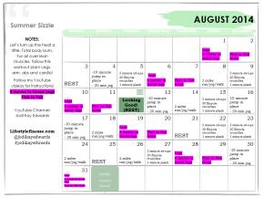 Motivation Monday & August WorkoutCalendar